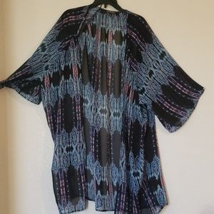 Sheer Multi colored cover up